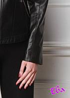 Укоротить рукава в кожаной куртке