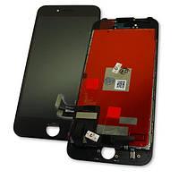 Apple Дисплей iPhone 7 + рамка і сенсор чорний (копія), фото 1