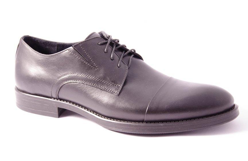 Туфли мужские черные Lioneli 3074-01
