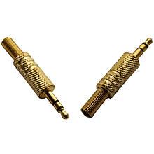Роз'єм 3,5 mini jack 2 pin Золотой
