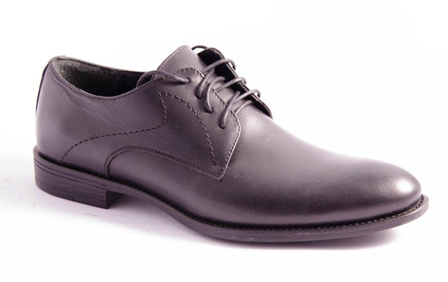 Туфли мужские черные Lioneli 3083-01