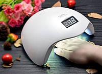 Лампа УФ для сушки ногтей для гель лака лампа для маникюра Светодиодная Sun-5 LED New для маникюра 48W