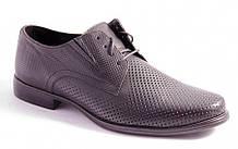 Туфли мужские черные Lioneli 3106-01