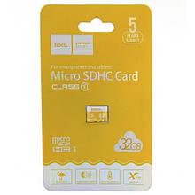 Карта Памяти Hoco Micro SD 10 Class 32 GB Черный