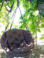 Садовые качели гамак Производство Украина standart 120 кг коричневый
