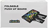 (ДЕФЕКТ) Складана дошка для віджимань Foldable Board - 14 в 1 | упори для віджимань (14409) УЦІНКА (095814), фото 4