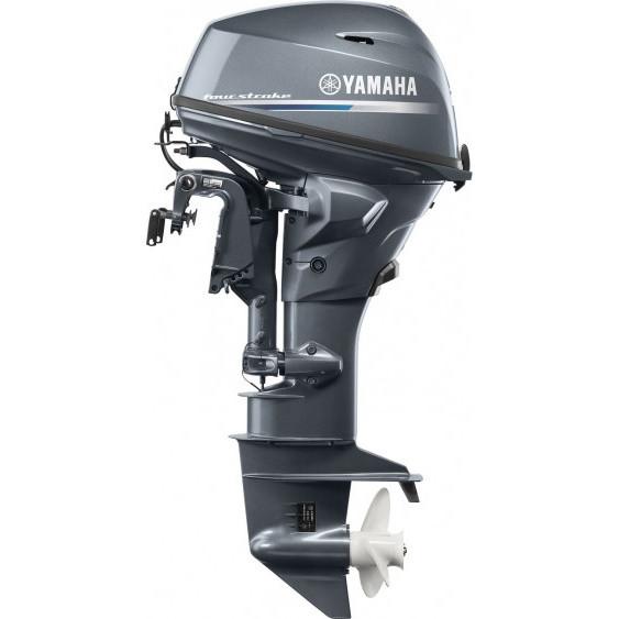 Лодочный мотор Yamaha F15CEL - подвесной мотор для яхт и рыбацких лодок