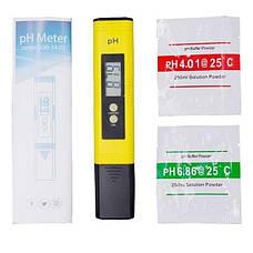 Тестер для измерения кислотности воды, pH уровня, модель PH-009(i)A, электронный, фото 3