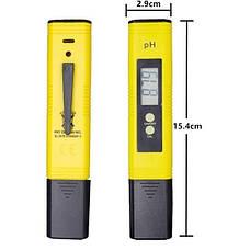Тестер для измерения кислотности воды, pH уровня, модель PH-009(i)A, электронный, фото 2