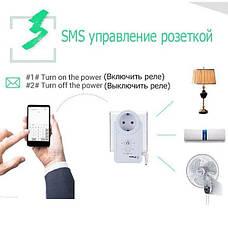 GSM розетка с датчиком температуры Vbestlife iTimer USB, фото 2