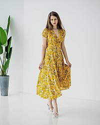 Сукня штапельне для літа