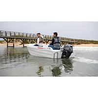 Лодочный мотор Yamaha F15CEL - подвесной мотор для яхт и рыбацких лодок, фото 3