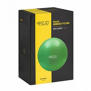 М'яч для фітнесу (фітбол) 4FIZJO 75 см Anti-Burst 4FJ0029 Green, фото 2