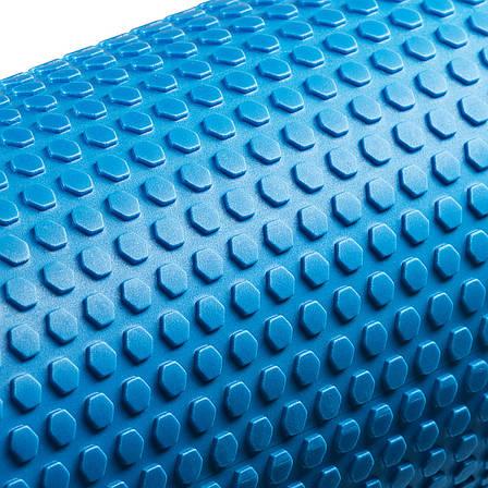 Массажный ролик (валик, роллер) 4FIZJO EVA 60 x 15 см 4FJ0118 Blue, фото 2