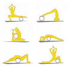 Колесо для йоги и фитнеса кольцо круг 4FIZJO Dharma 4FJ1448 Green, фото 3