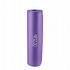 Коврик мат для йоги и фитнеса 4FIZJO NBR 1.5 см 4FJ0151 Violet, фото 2