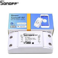 WiFi выключатель Sonoff RF с пультом в виде настенного выключателя, управление через пульт, смартфон, фото 2