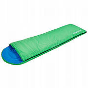 Спальный мешок одеяло SportVida SV-CC0013 Green/Blue (спальник)