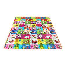 Розвиваючий дитячий килимок промокає двосторонній 4FIZJO KIDS 180 x 180 x 1 см, фото 3