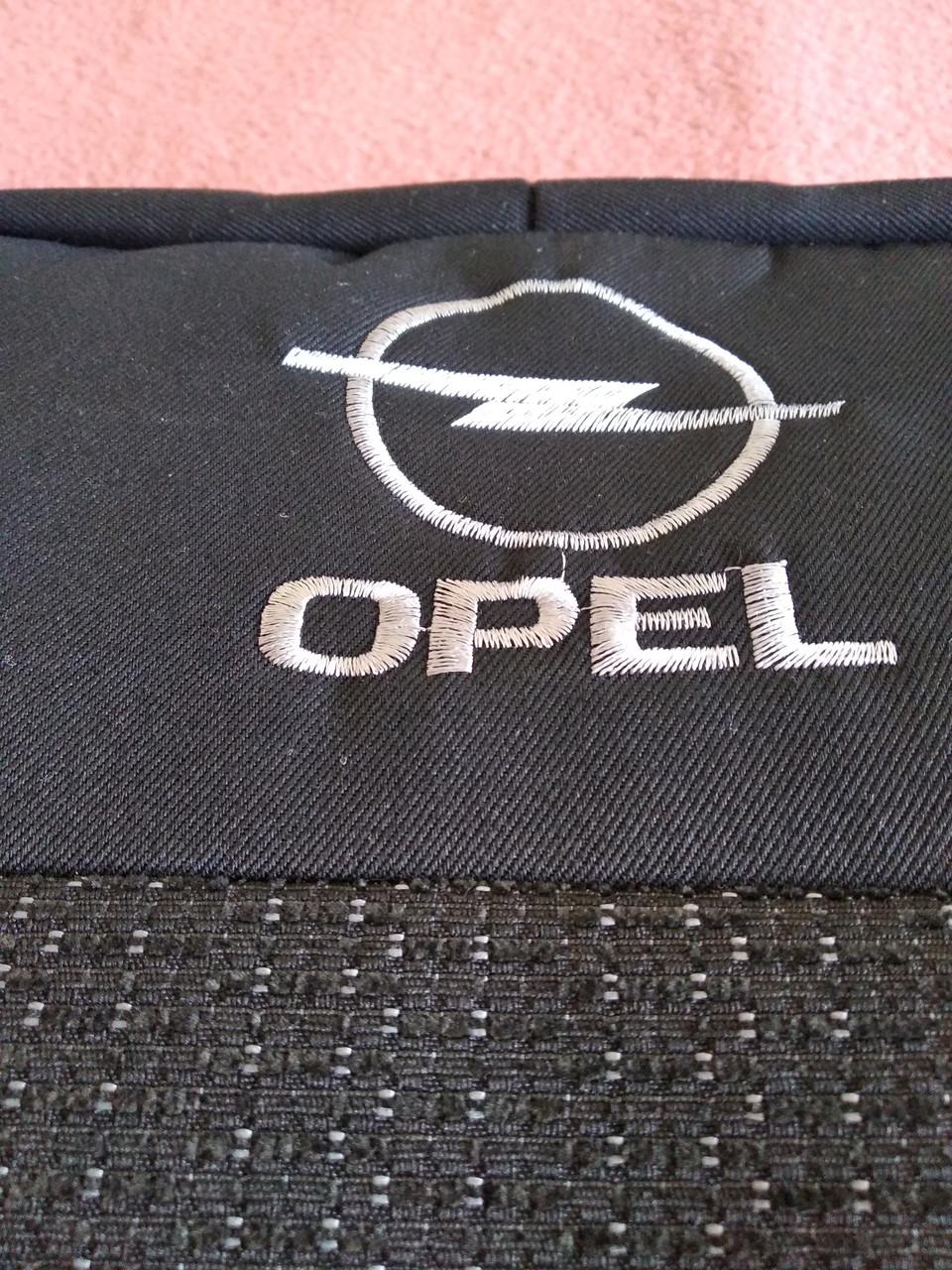 Чехлы на сиденья OPEL Astra G с 1998 г. 1/3 спина / 5 подголовников. Опель Астра