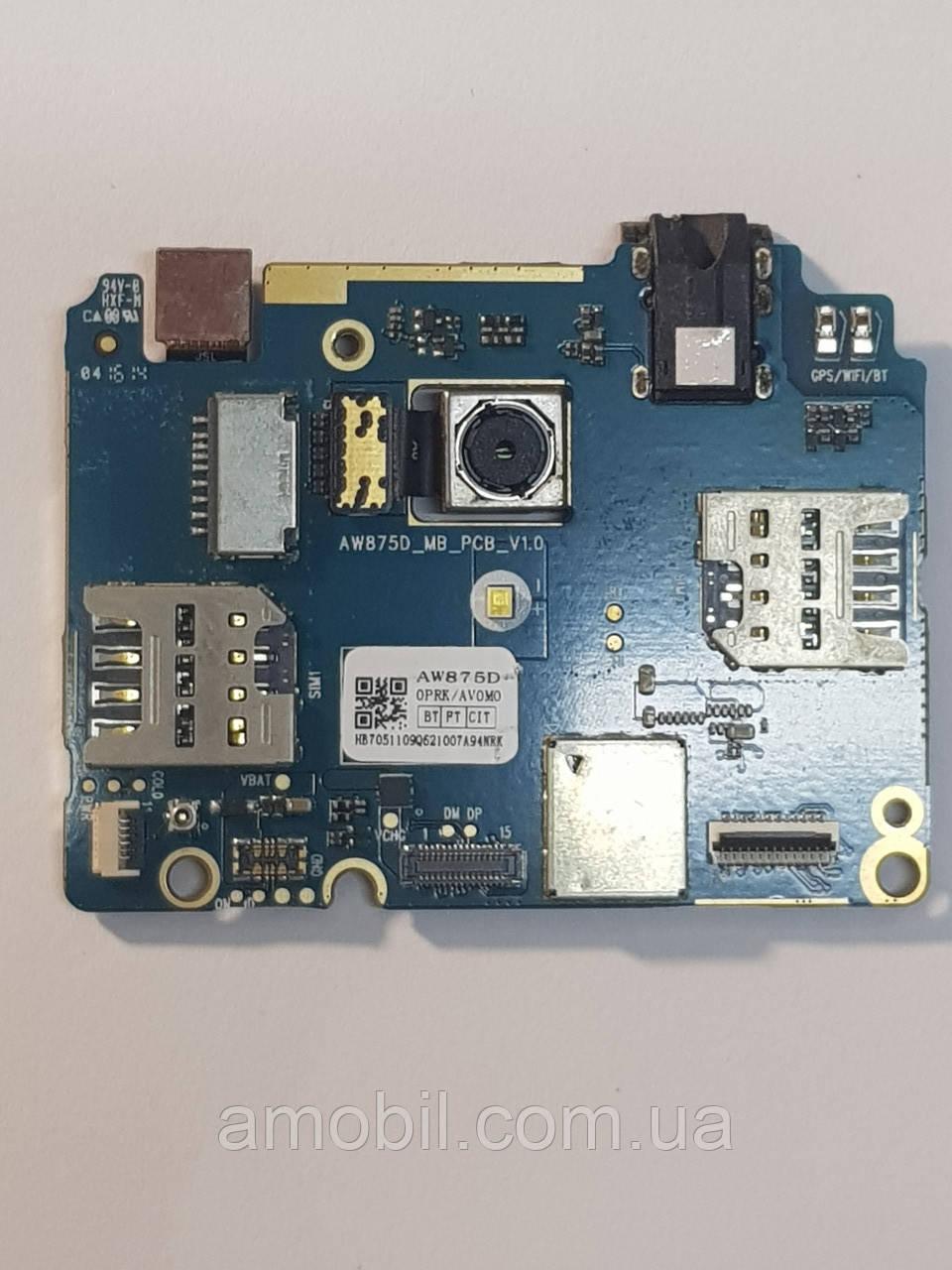 Материнская плата Acer Liquid Zest T06 с камерами рабочая