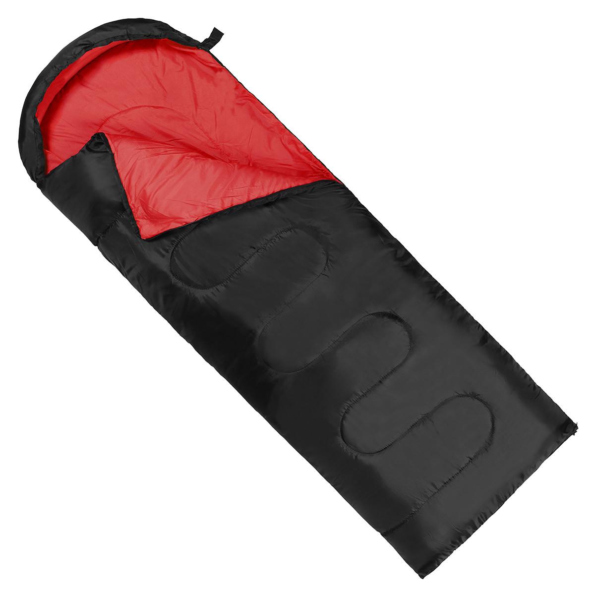Спальний мішок (спальник) ковдра SportVida SV-CC0064 +2 ...+ 21°C L Black/Red