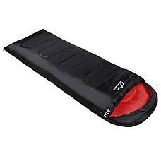 Спальний мішок (спальник) ковдра SportVida SV-CC0064 +2 ...+ 21°C L Black/Red, фото 3