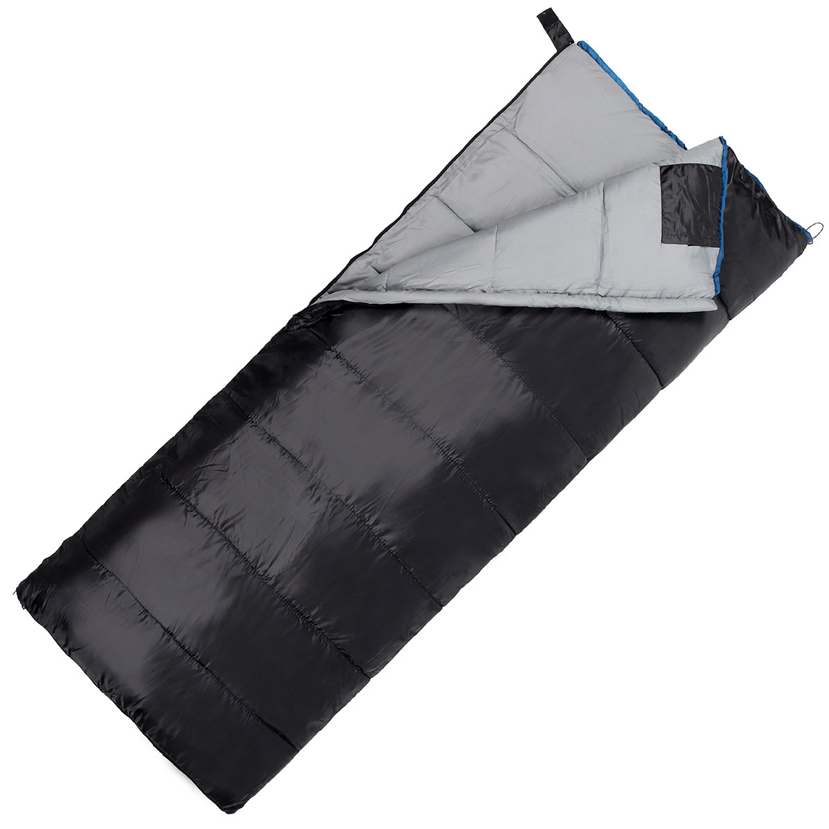 Спальний мішок (спальник) ковдра SportVida SV-CC0068 -3 ...+ 21°C R Black/Grey (состегиваются)