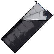 Спальный мешок (спальник) одеяло SportVida SV-CC0068 -3 ...+ 21°C R Black/Grey (состегиваются)