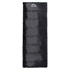 Спальний мішок (спальник) ковдра SportVida SV-CC0068 -3 ...+ 21°C R Black/Grey (состегиваются), фото 2