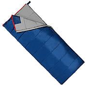 Спальный мешок (спальник) одеяло SportVida SV-CC0067 -3 ...+ 21°C L Blue/Grey (состегиваются)