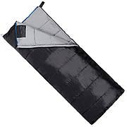 Спальный мешок (спальник) одеяло SportVida SV-CC0069 -3 ...+ 21°C L Black/Grey (состегиваются)