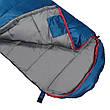 Спальный мешок (спальник) одеяло SportVida SV-CC0071 -3 ...+ 21°C L Blue/Grey, фото 3