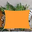 Тент-парус тіньової для дому, саду та туризму Springos 4 x 3 м SN1035 Orange (тент накриття), фото 5