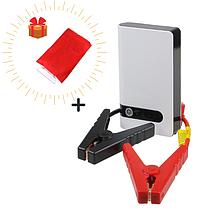 Пуско-зарядное устройство (бустер) Mini Max + подарок Автомобильная перчатка для удаления льда