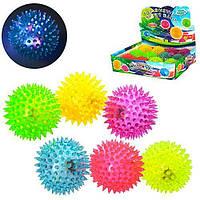Светящиеся мячики,пищалка,мяч MS1137-2,попрыгунчик