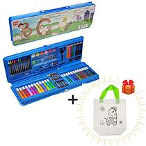 Большой набор для рисования + подарок Сумка детская раскраска Жираф