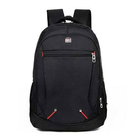 Чоловічий міський рюкзак для повсякденного носіння, поїздок, з відсіком для ноутбука, ортопедичною спинкою, фото 2