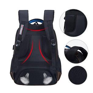 Рюкзак міський Hosen з USB портом для заряджання телефону, фото 2