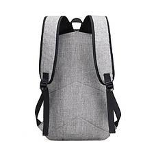 Рюкзак для работы, школы, поездок, оборудован кодовым замком, выносной USB и аудио порт, фото 2