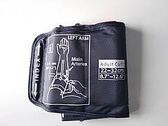 Манжета для любого электронного тонометра с одной трубкой Стандарт 22-32см
