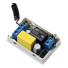 Вимикач на 220В з пультом управління у вигляді настінного кнопкового вимикача, фото 3