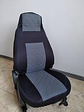 Чехлы автомобильные модельные ВАЗ 2107 Luxe Серый, фото 2