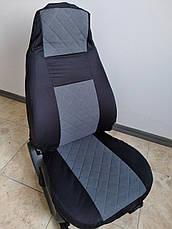Чехлы автомобильные модельные ВАЗ 2107 Luxe Серый, фото 3