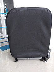 Чехлы на сиденья авто универсальные MAX алькантара Передние 2шт Серый, фото 2
