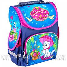 Ортопедический школьный рюкзак с котиком рюкзак-коробка SMILE