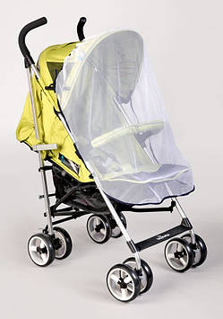 Москитная сетка на прогулочную коляску Защита от насекомых и комарей на детскую коляску прогулку