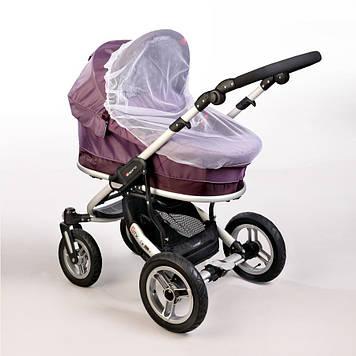 Москитная сетка универсальная (маленькая) Москитная сетка на детскую коляску Сетка от насекомых на коляску