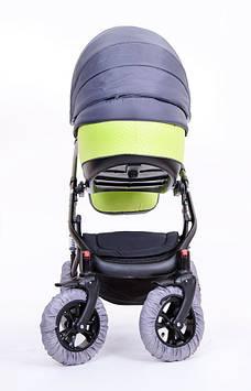 Чехлы на колеса детской коляски Многоразовые бахилы на колеса коляски Чехлы на колеса коляски на липучках