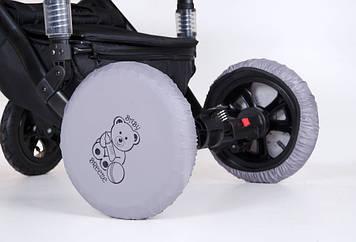 Чехлы на колеса от грязи Чехлы на колеса для детской коляски Многоразовые бахилы на колеса детской коляски